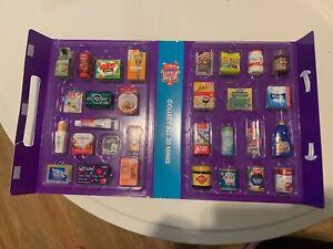 Coles Little Shop 2 Mini Collectables , 24 Pieces Including Case