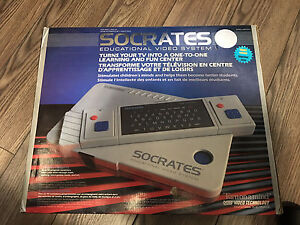 Vintage educational video game system Socrates