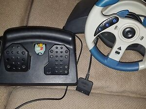 PS1 / PS2 Racing Wheel