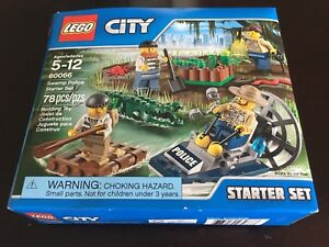 Lego City Swamp Police Starter Set (60066)