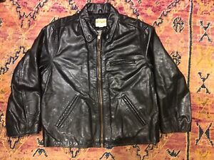 Replay Made in Italy Leather moto jacket