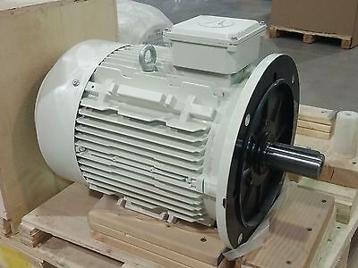 Techtop 3-phase 7.5hp Electric Motor - Brand New