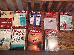 Livres Marc Levy