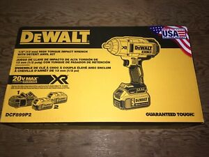 "DeWalt 20 volt XR 1/2"" Brushless High Torque Impact Wrench"