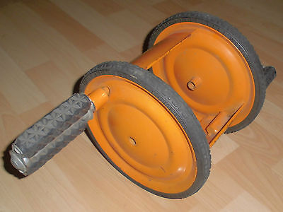 metall spielzeug oldtimer alt pedal tret rad 70er/80er vollgummi reifen top deko