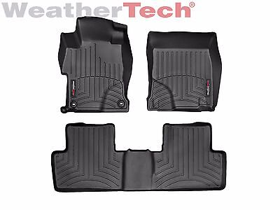 Weathertech Floor Mats Floorliner For Honda Civic Sedan   2014 2015   Black