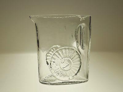 Hübscher 70er Jahre Glaskrug von Claus Josef Riedel
