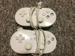 Wii classic controllers