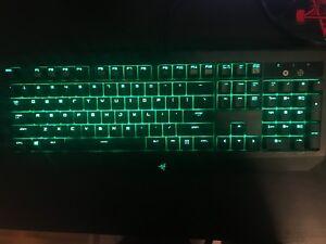 Razer blackwidow ultamate 2016 keyboard