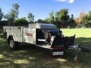 Hard Floor Camper Trailer Complete Campsite Fraser Off Road Bridgeman Downs Brisbane North East Preview