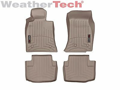 WeatherTech FloorLiner Mats for Cadillac CTS/CTS-V Sedan - 1st/2nd Row - Tan