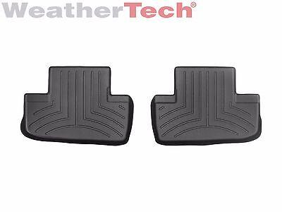 WeatherTech Floor Mats FloorLiner for Lexus RC - 2015-2017 - 2nd Row - Black