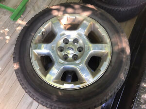 """Ford F-150 Factory 20"""" Rims + New Goodyear Tires"""