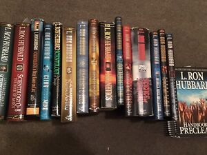 Lot of 16 used Scientology books