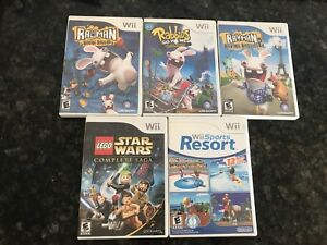 Set of 5 mixed Nintendo Wii games for just $30