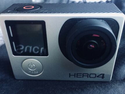 GoPro Hero Silver 4 Camera plus heaps of accessories. Like new!