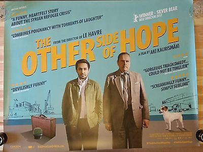 THE OTHER SIDE OF HOPE - Authentic UK Cinema Quad Movie Poster - AKI KAURISMAKI