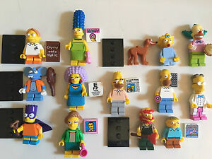 Lot figurines Lego Simpson