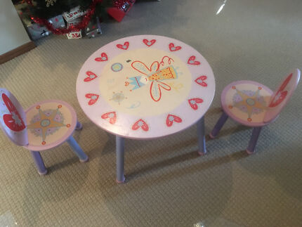 Free - little girls table & chairs