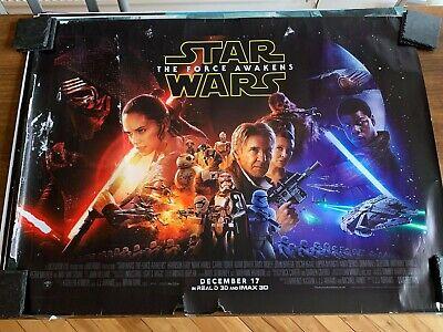 Star Wars - The Force Awakens (British Quad) Cinema Poster