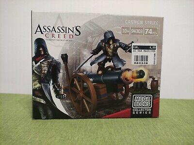 MEGA BLOKS Cannon Strike Assassin's Creed costruzioni New nuovo