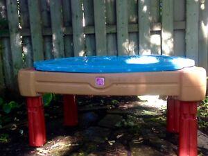 Table eau et sable - Step 2