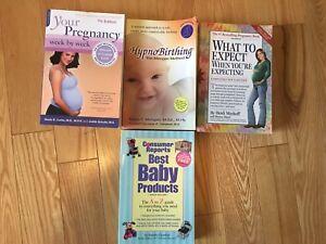 Pregnancy books $25