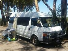 Toyota Hiace Campervan WA Rego Melbourne CBD Melbourne City Preview