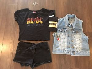 ONE OF A KIND ADORABLE PUNK GIRL COSTUME