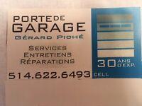Réparation de porte de garage