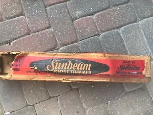 Vintage Sunbeam Hedge Trimmer