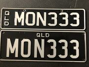 mon333 number plates (money) Pimpama Gold Coast North Preview