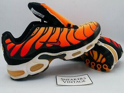 Vintage Collector Nike Air Max Plus Tn 1998 Tiger Orange Black OG...