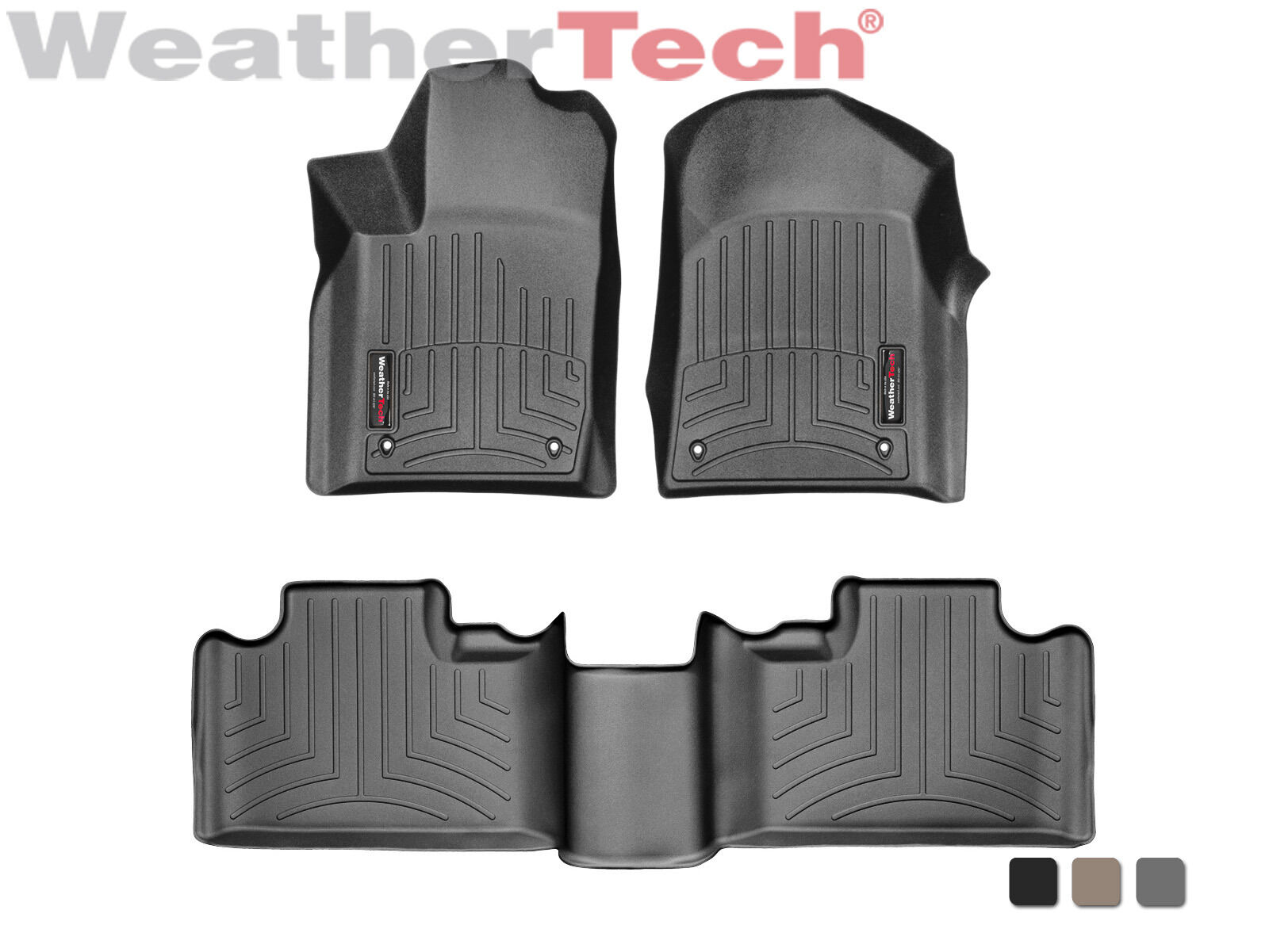 Tan PantsSaver 1601063 Custom Fit Car Mat 4PC