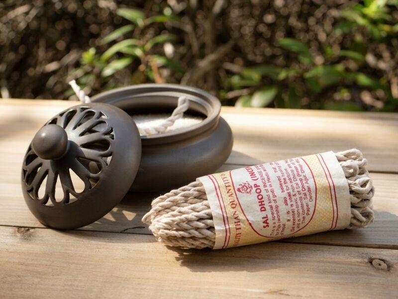 Lakhe Sal Dhoop Tibetan Rope Incense
