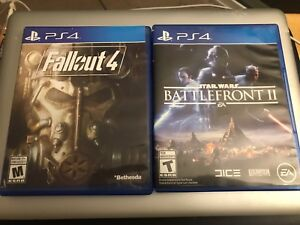 Fallout 4 and Battlefront 2 like new!