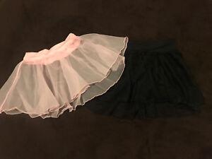 Dance skirts size 4-6 *like new*