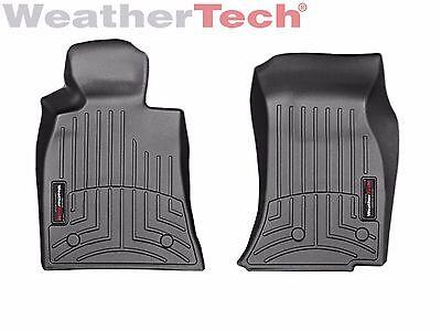 WeatherTech Car FloorLiner for Cadillac ATS/CTS/CTS-V Sedan - 1st Row - Black