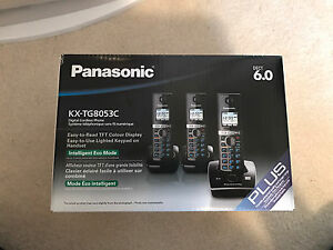Panasonic Phones (set of 3) Brand New in Box