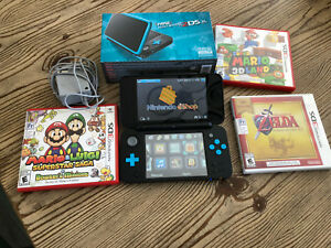 Nintendo 2DS XL + 3 games