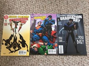 Titans Young Justice Graduation Day complete set