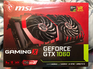 MSI GTX 1060 6GB GRAPHICS CARD