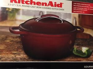 Cast iron pot 3.3 L round Brand new - never opened