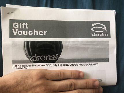 2x Vouchers for Melbourne's BEST Hot-Air Balloon/Breakfast SAVE $200!