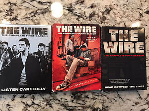 The Wire DVD's