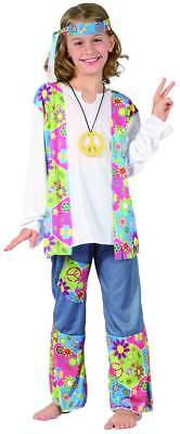 Kinderkostüm für ein Hippie Mädchen Cod.226051 ()