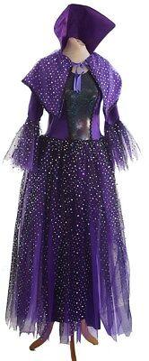 HALLOWEEN/PANTO/Drag/Film/Ursula/Fancy Dress PURPLE GOTHIC EVIL QUEEN Costume (Halloween Drag Queens)