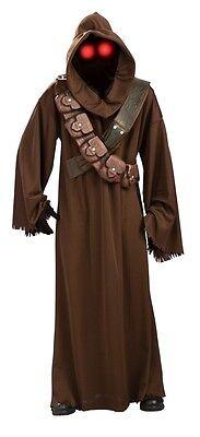 RUBIES STAR WARS JAWA HOODED ROBE MENS ADULT COSPLAY HALLOWEEN COSTUME 889311](Jawa Halloween Costume)