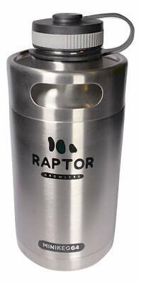 Best 64 oz DrinkTanks Vacuum Insulated Stainless Steel Beer Growler Water (Best Vacuum Insulated Bottle)
