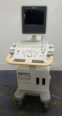 Philips Model Hd3 Ultrasound System W Flat-panel Monitor Printer - No Probes